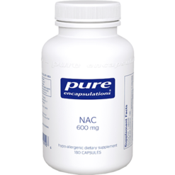 Pure Encapsulations NAC 600 mg 180 vcaps NACE6