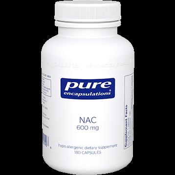 Pure Encapsulations NAC 600 mg 180 vcaps NACE6