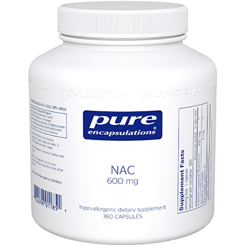 Pure Encapsulations NAC 600 mg 360 caps NA63