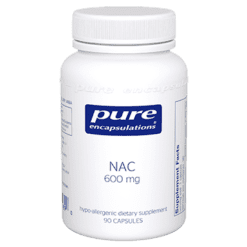 Pure Encapsulations NAC 600 mg 90 vcaps NACE5