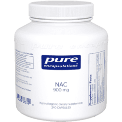 Pure Encapsulations NAC 900 mg 240 vcaps NACE8