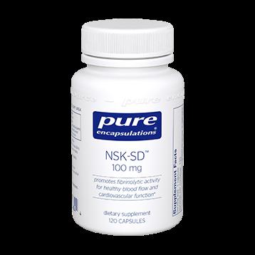 Pure Encapsulations NSK SD Nattokinase 100 mg 120 vegcaps NSKS3