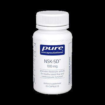 Pure Encapsulations NSK SD Nattokinase 100 mg 60 caps NSKS4