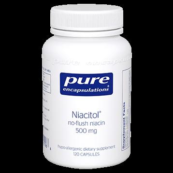Pure Encapsulations Niacitol 500 mg 120 vcaps NIA14