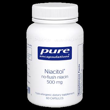 Pure Encapsulations Niacitol 500 mg 60 vcaps NIA15
