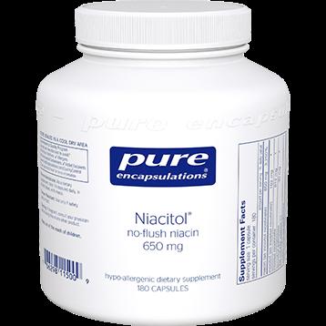 Pure Encapsulations Niacitol 650 180 caps P15009