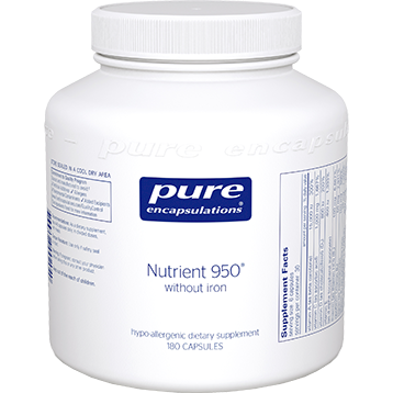 Pure Encapsulations Nutrient 950® w o Iron 180 vcaps NUT18