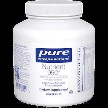 Pure Encapsulations Nutrient 950 180 vcaps NUT15
