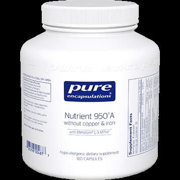 Pure Encapsulations Nutrient 950 No CU amp FE 180 vcaps NUT44