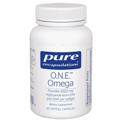 Pure Encapsulations O.N.E.™ Omega 60 softgels P01616