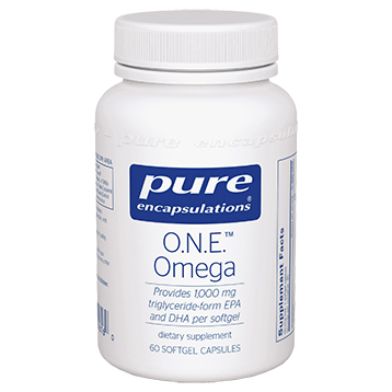 Pure Encapsulations O.N.E.™ Omega 60 softgels P01616