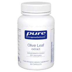 Pure Encapsulations Olive Leaf extract 60 vegcaps OLI14