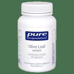 Pure Encapsulations Olive Leaf extract 60 vegcaps OLI14