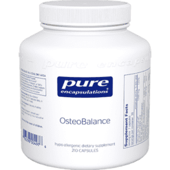 Pure Encapsulations OsteoBalance 210 vegcaps OST26