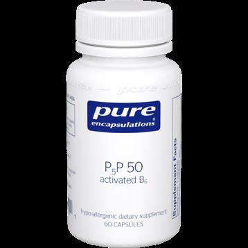 Pure Encapsulations P5P50 activated B 6 60 vcaps P5P51