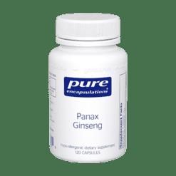 Pure Encapsulations Panax Ginseng 250 mg 120 vegcaps PANA2