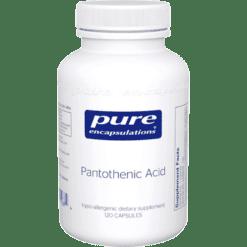 Pure Encapsulations Pantothenic Acid 120 vegcaps PTA14