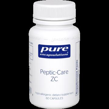 Pure Encapsulations Peptic Care Zinc L Carnosine 60 vcaps PCZ6