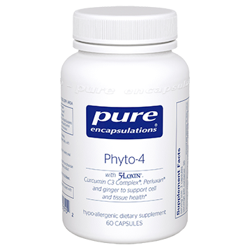 Pure Encapsulations Phyto 4 60 vcaps P13152