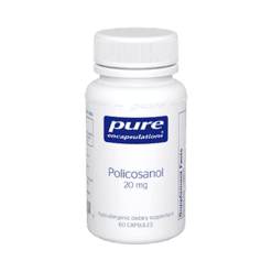 Pure Encapsulations Policosanol 20 mg 60 vegcaps POLI4