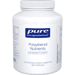 Pure Encapsulations Polyphenol Nutrients 360 vcaps POL23