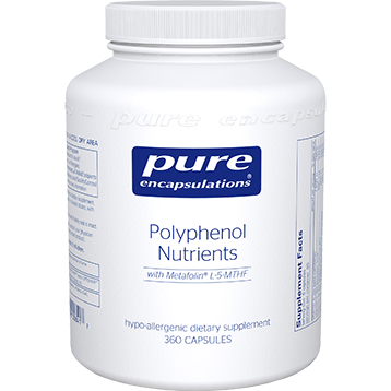 Pure Encapsulations Polyphenol Nutrients 360 vcaps POL23