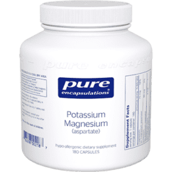 Pure Encapsulations Potassium Magnesium aspartate 180vcaps POT14