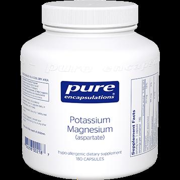 Pure Encapsulations Potassium Magnesium aspartate 180vcaps POT14