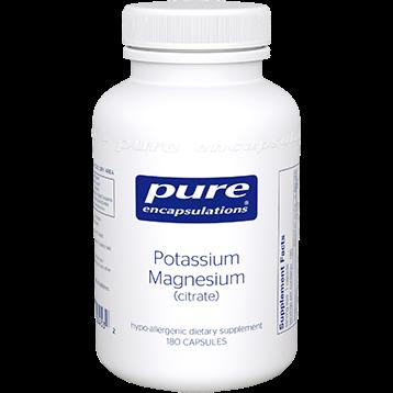 Pure Encapsulations Potassium Magnesium citrate 180 vcaps POT17