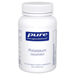 Pure Encapsulations Potassium aspartate 90 vcaps POT13