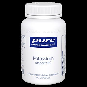 Pure Encapsulations Potassium aspartate 90 vcaps POT13