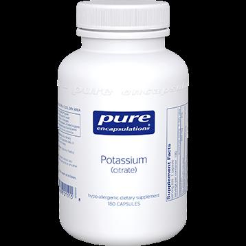 Pure Encapsulations Potassium citrate 180 vcaps PC180