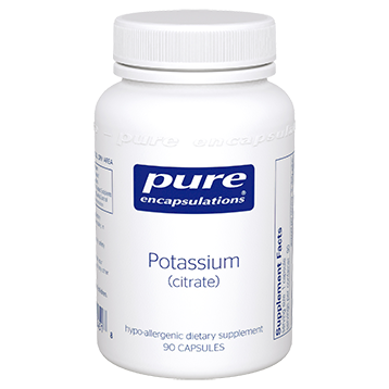 Pure Encapsulations Potassium citrate 90 vcaps POT16