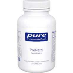 Pure Encapsulations PreNatal Nutrients 120 vcaps PRE22