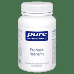 Pure Encapsulations PreNatal Nutrients 60 vcaps PRE23
