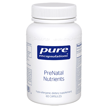 Pure Encapsulations PreNatal Nutrients 60 vcaps PRE23