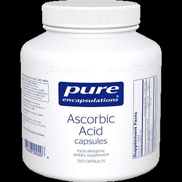 Pure Encapsulations Pure Ascorbic Acid 250 vcaps PURC6