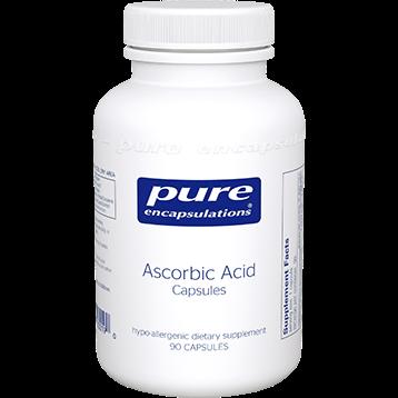 Pure Encapsulations Pure Ascorbic Acid 90 vcaps PURC7