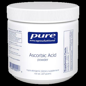 Pure Encapsulations Pure Ascorbic Acid powder 227 gms PURC8