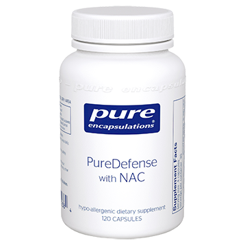 Pure Encapsulations PureDefense w NAC 120 vcaps PDN1