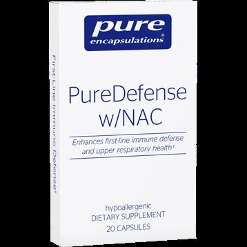 Pure Encapsulations PureDefense w NAC travel pack 20 caps P17228