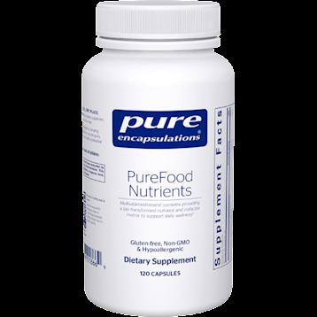 Pure Encapsulations PureFood Nutrients 120 caps P18669