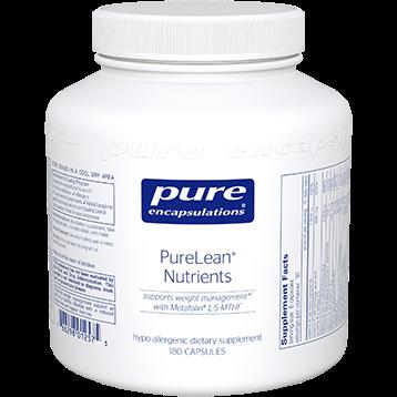 Pure Encapsulations PureLean Nutrients 180 vegcaps PLN75