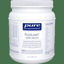 Pure Encapsulations PureLean Van. Bean Flavor w stevia 540 g PLV64