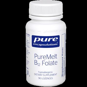 Pure Encapsulations PureMelt B12 Folate 90 lozenges P17860