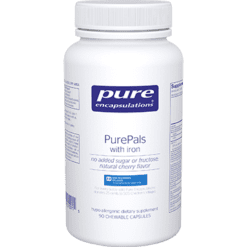 Pure Encapsulations PurePals with iron 90 chewtabs PPALS