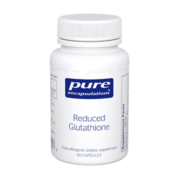 Pure Encapsulations Reduced Glutathione 100 mg 60 vcaps GLU61