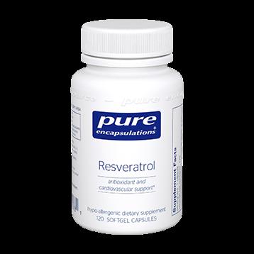 Pure Encapsulations Resveratrol 120 vegcaps RESV3