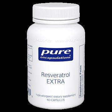Pure Encapsulations Resveratrol EXTRA 60 caps RESV7