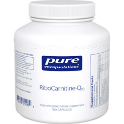 Pure Encapsulations RiboCarnitine Q10 180 vcaps RCQ1